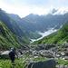 鹿島槍ヶ岳カクネ里 氷河への道のり