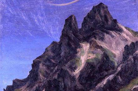 山岳風景画に関する資料調査